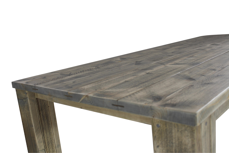Tafel steigerhout vierkant zijschotjes woonenstyling